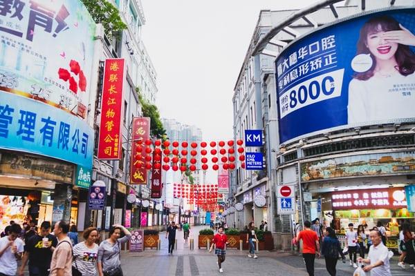 mercato cinese servizi medici